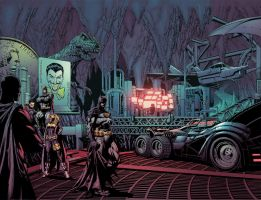 Batman spread by Eddy-Swan