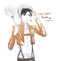 Rivaille -SnK by OrangeMouse