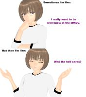 MMD - Want to be well know in MMDC. by Ayumichigolove