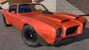 1973 Pontiac Trans Am by SamCurry