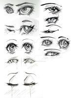 Stylish Eyes by Quantum-Kiff
