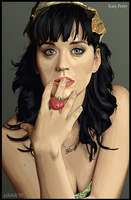 Katy Perry- Vector by rhobdesigns