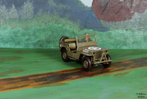 Willys MB US Army Jeep by 12jack12