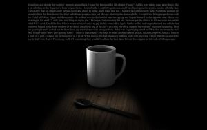 Coffee Time Contemplation by Facial-Tic