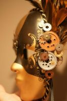 Steampunk Mask, Close Up by mutedshadow