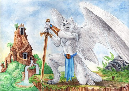 Guardian of Heaven by Ashalind