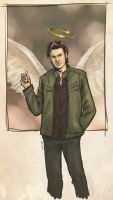 Supernatural - Gabriel by Ammosart