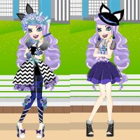 Spring Unsprung Kitty Chesire Dress Up by heglys