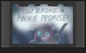 You Broke a Pinkamena promisse! ver-2 by INVISIBLEGUY-PONYMAN