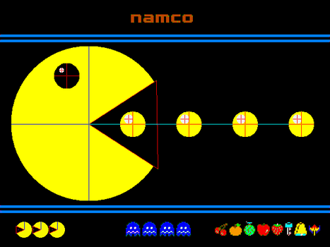 Pac-Man in Turbo Pascal by Sledge3