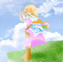 Skyward Sword Zelda by Lucky-JJ