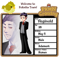 PKMNC: Reginald v2 by Spoonzmeister