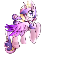 Princess Cadence by PaperKoalas