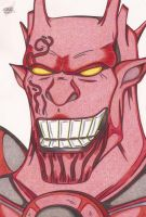Red Lantern- Atrocitus by Windows-Destructeur