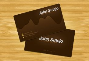 freebie: ChocolateBusinessCard by yahya12