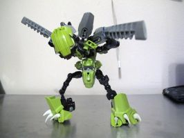 LEGO Scyther attempt by QuantumMorality