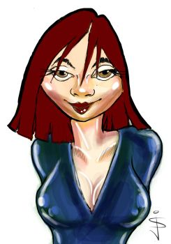 Red Head by NorthumbrianArtist