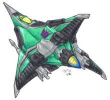 Decepticon Tetrajet, Chimera by Heatherbeast