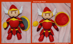 Shield Knight Plush by DonutTyphoon