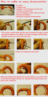 Tutorial: dreamcatcher by knotsme