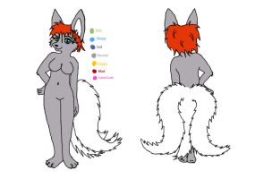 Yesha Ref Sheet by Scribbabbles