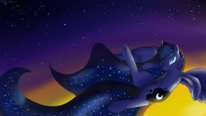 Luna's Flight by darkstarr48