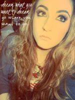 dream what you want to dream, go where you want to by handmadebyhannah
