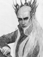 Lee Pace as Thranduil by lovely-little-gun