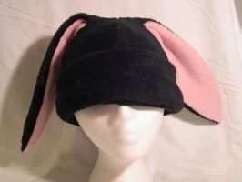 Cuddle Black Bunny - CLEARANCE by kittyhats