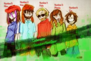 Codename: Youtubers Next Door by Ninja-Neko-Aru