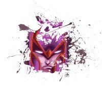 Faces-Magneto by Absalom7