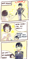 Mama saniwa is proud too. . . by Milchiah