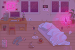 pixel room by Himion
