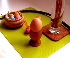 Easter still life by What-is-worth