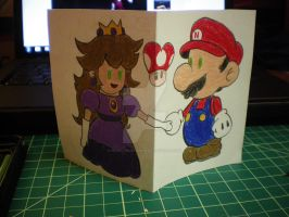 Paper Mario Birthday Card by peanutbuttahhh