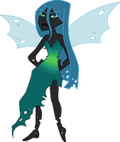 A quick Chrysalis by black-cat-lover-mew