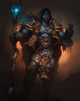 Orc Mage by Raph04art