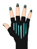 Nails and Glove Base 2 by MoonStarWolf112