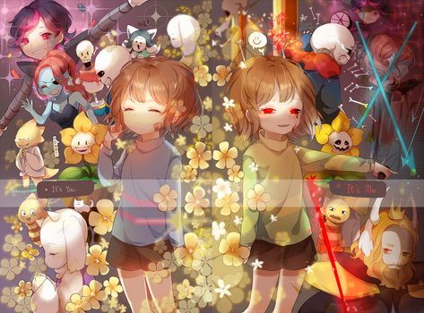 Undertale by herbflavor