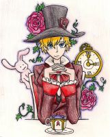 Tamaki mad hatter by Shaynihx