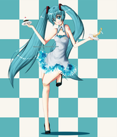 Miku, at your service??? by Fleeting-Truth