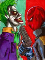 The Clown and the Red Hood by ShikoSyaoran