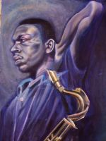 Love Trane by Yamenja