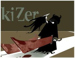 WiZer Kizer hard day at work by CoranKizerStone