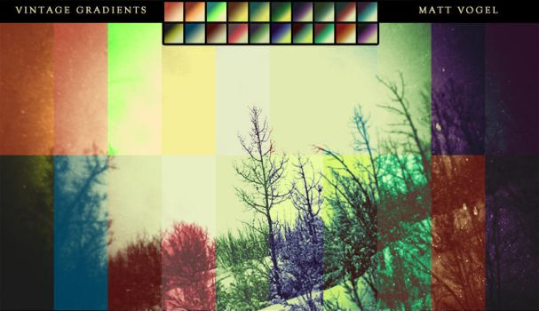 Vintage Gradients by Icechicken