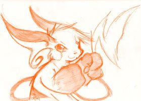 Raichu Sketch by raizy