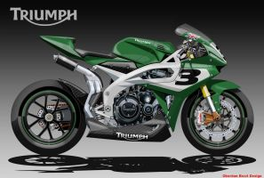 TRIUMPH NEXT SUPERBIKE by obiboi