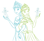 Do you want to build a snowman? by DarleenEnchanted