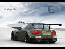BMW E92 M3 GTR 2008 c by ely862me