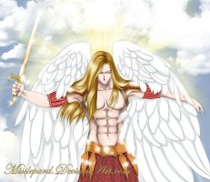 Saint Michael Archangel by misslepard